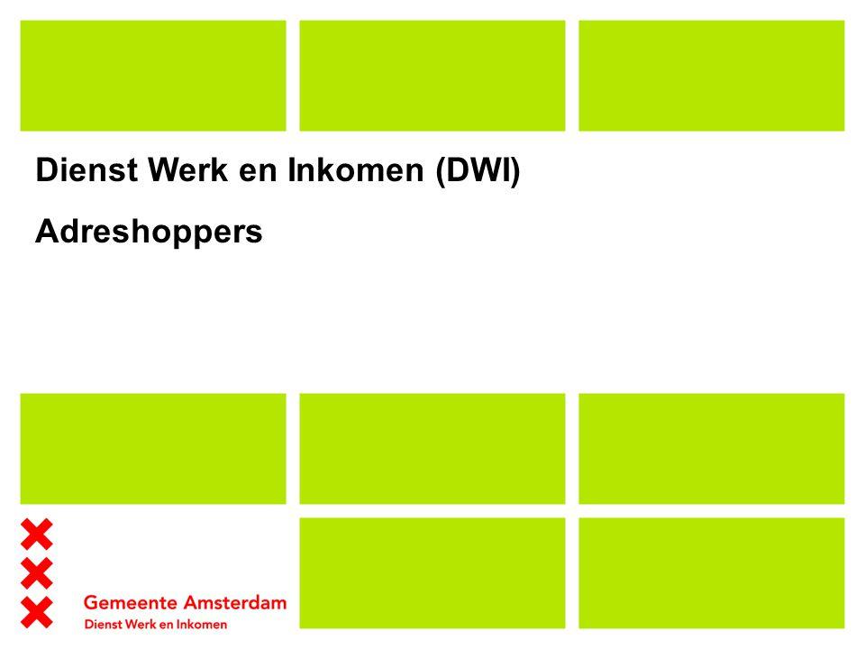 Dienst Werk en Inkomen (DWI) Adreshoppers