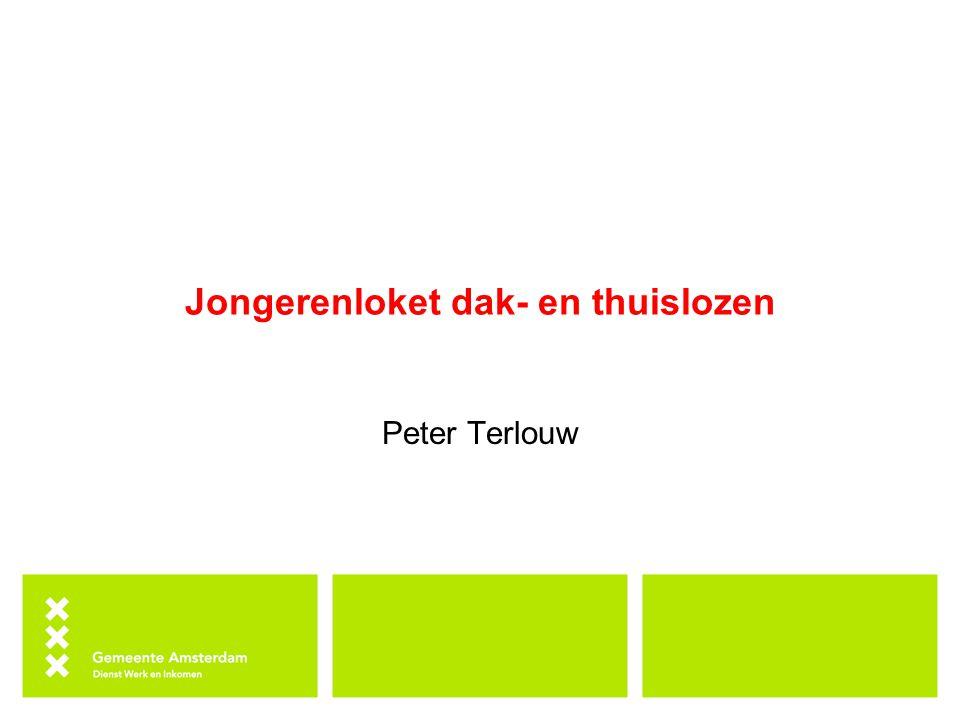 Jongerenloket dak- en thuislozen Peter Terlouw