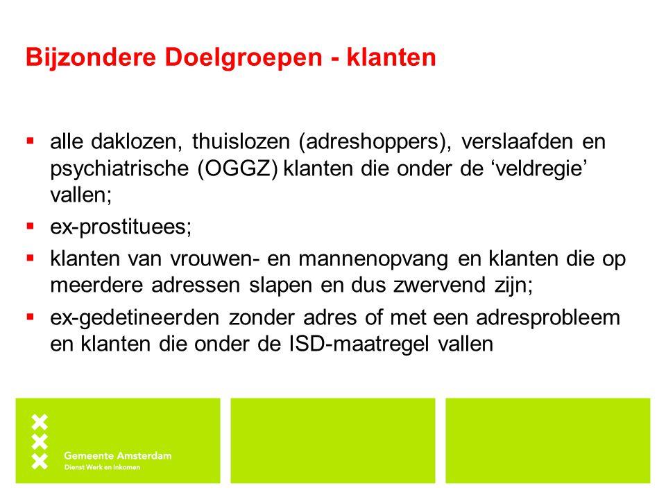 Bijzondere Doelgroepen - uitkering WWB Basisnormen 1 januari 2014 (incl.