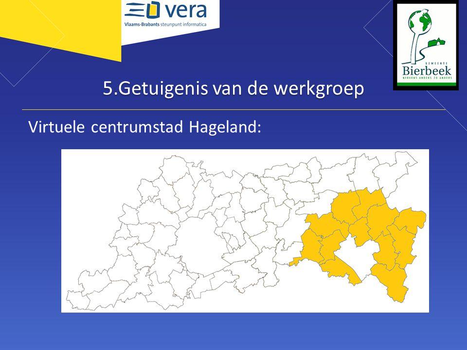 5.Getuigenis van de werkgroep Virtuele centrumstad Hageland: