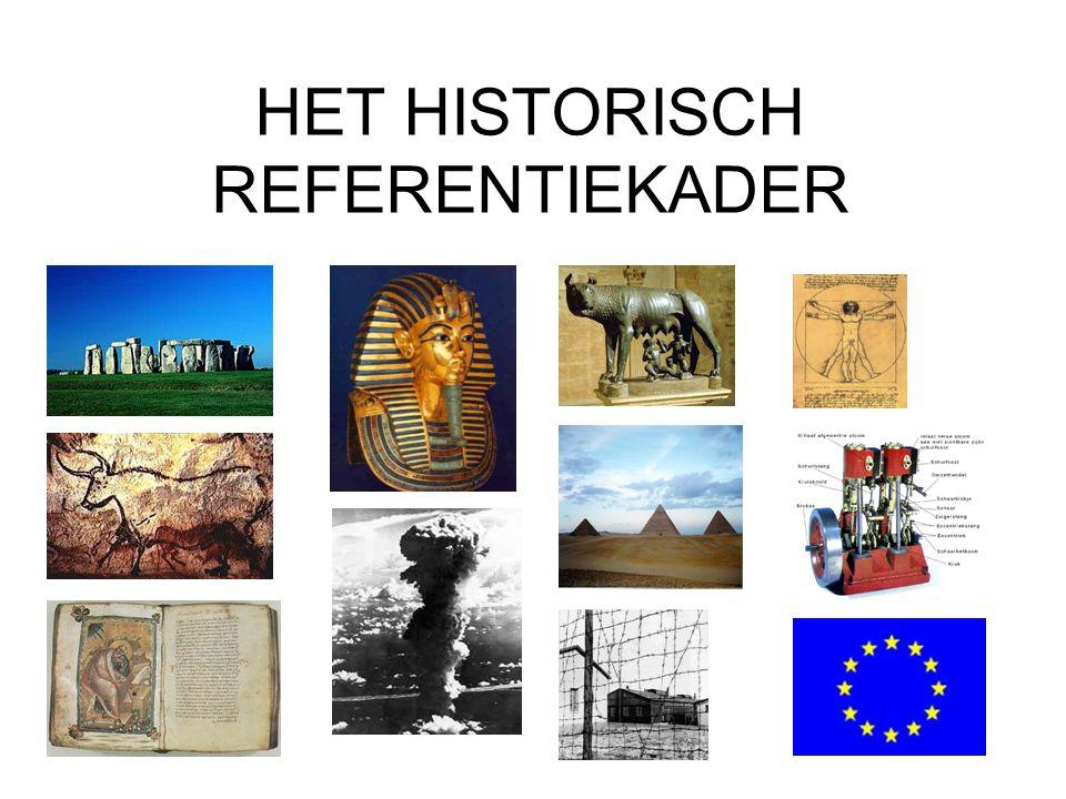 2 HISTORISCHE REFERENTIEKADERS •Chronologische indeling •Indeling volgens type van samenleving
