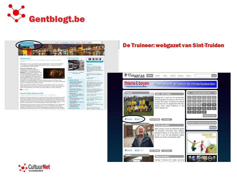 Gentblogt.be De Truineer: webgazet van Sint-Truiden