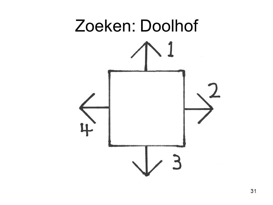 31 Zoeken: Doolhof