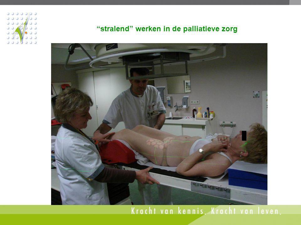 """""""stralend"""" werken in de palliatieve zorg"""