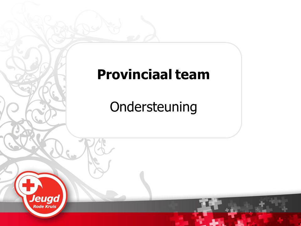 Provinciaal team Ondersteuning