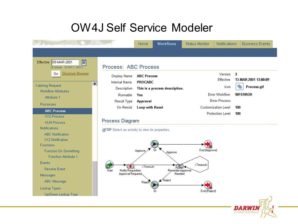 15 OW4J Self Service Modeler
