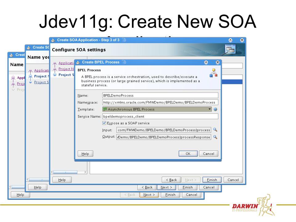 37 Jdev11g: Create New SOA Application