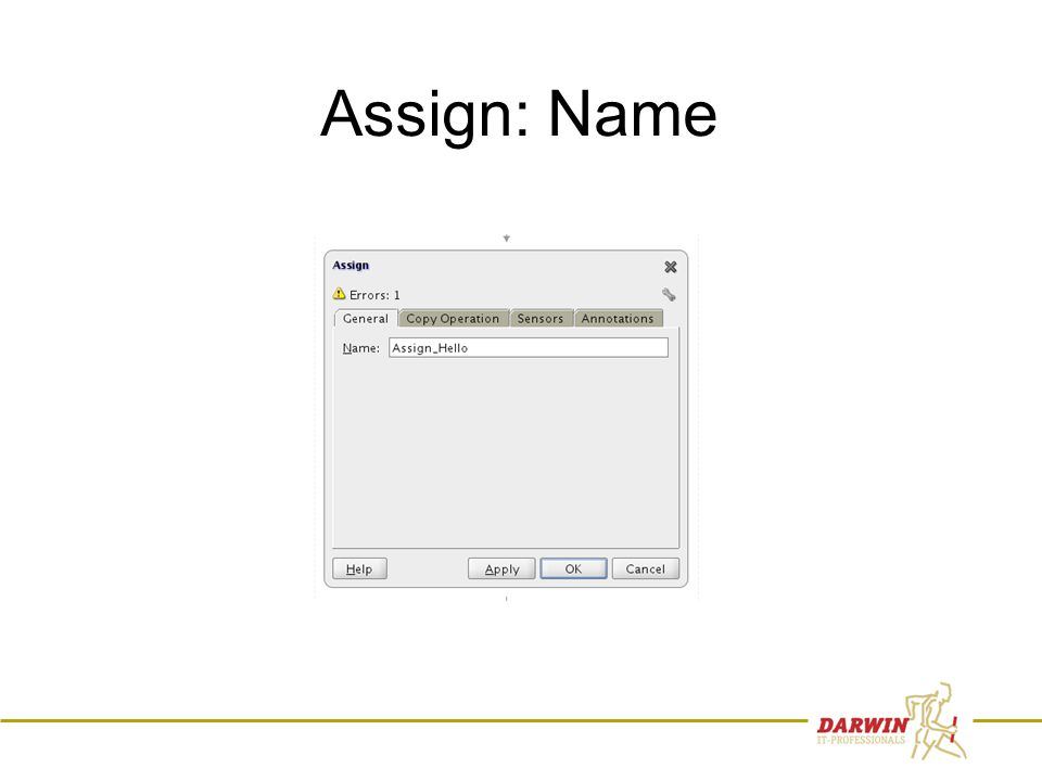 46 Assign: Name