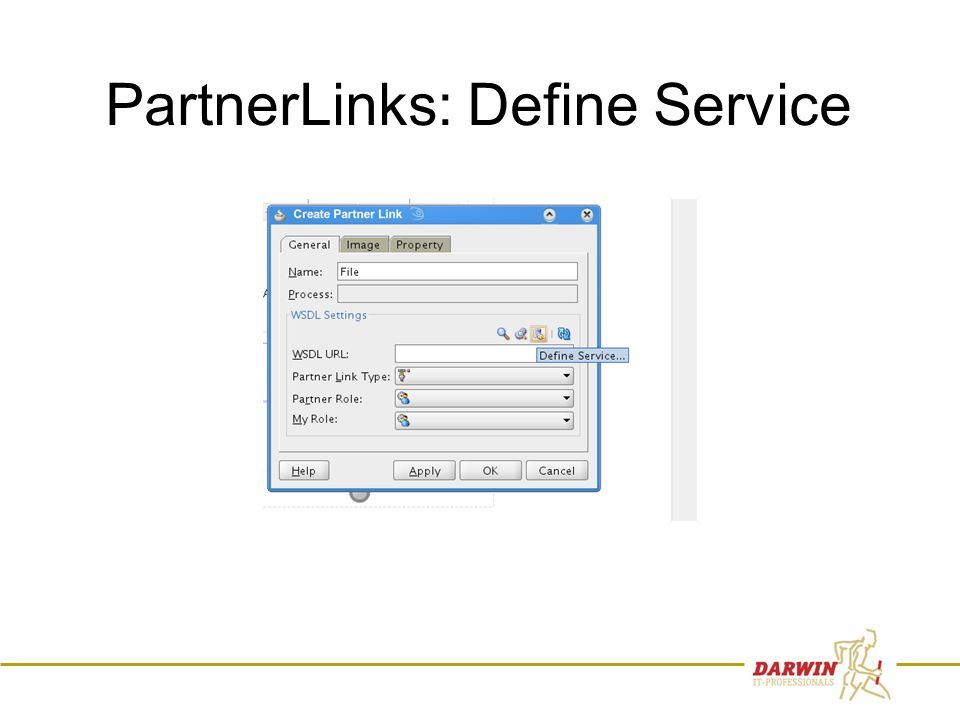 53 PartnerLinks: Define Service