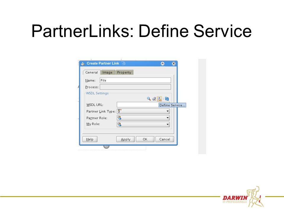 53 PartnerLinks: Define Service