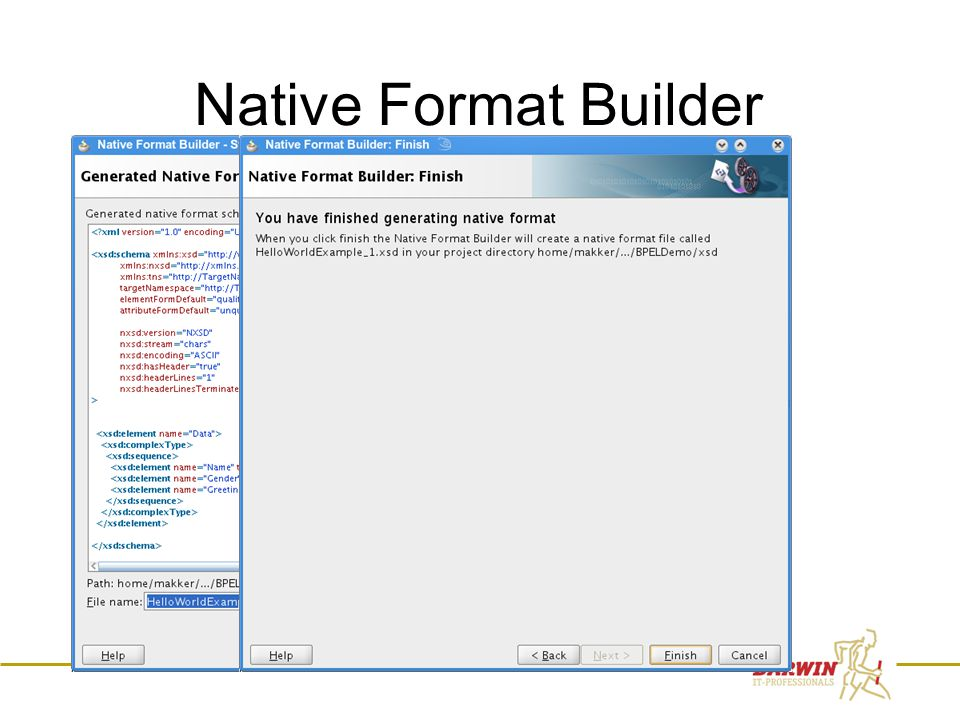 64 Native Format Builder