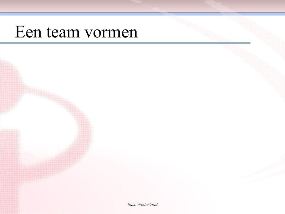 Itasc Nederland Een team vormen