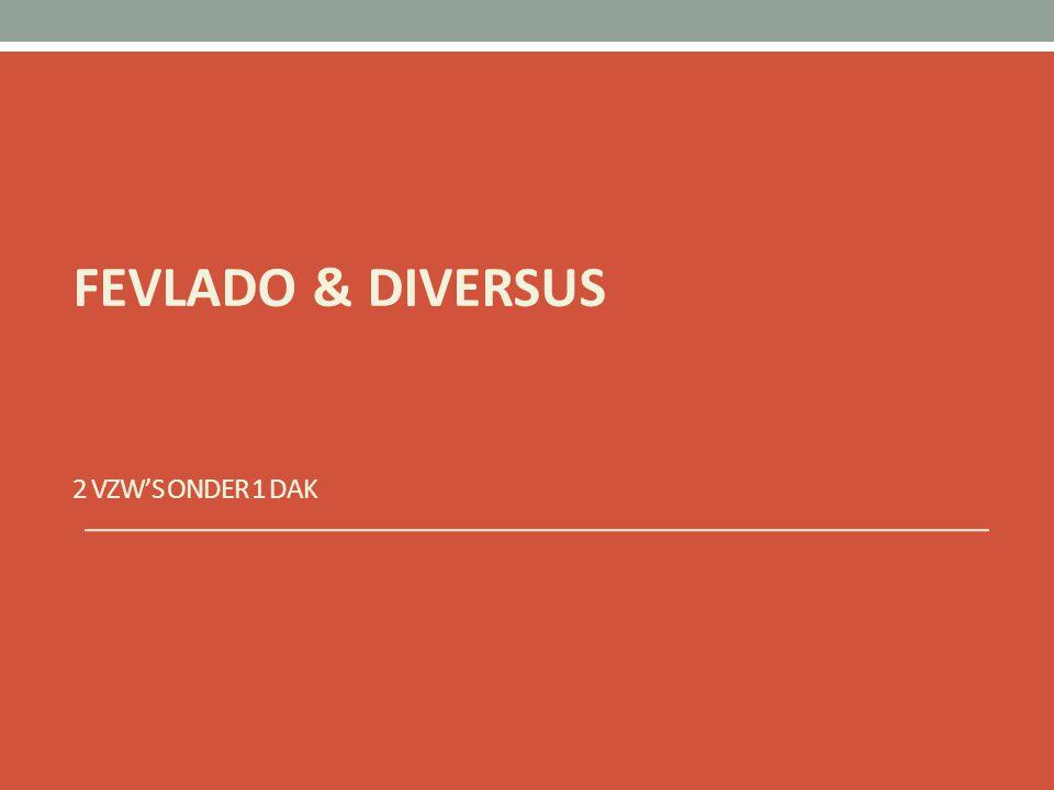 2 VZW'S ONDER 1 DAK FEVLADO & DIVERSUS