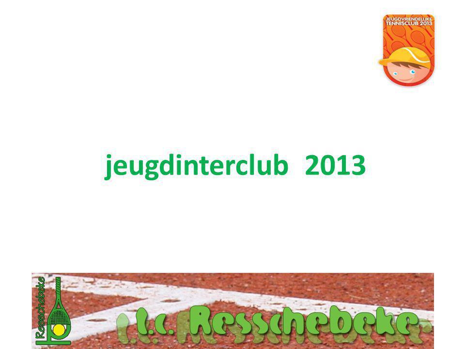jeugdinterclub 2013