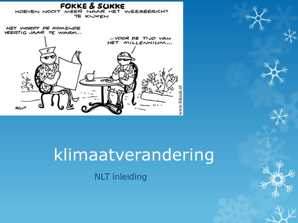 klimaatverandering NLT inleiding