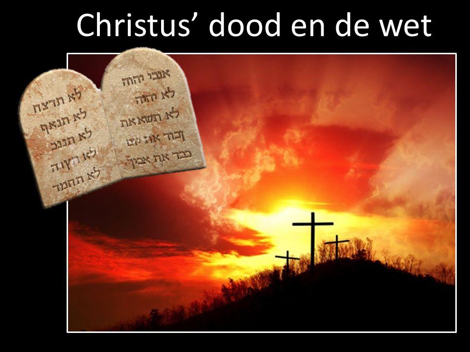 Christus' dood en de wet