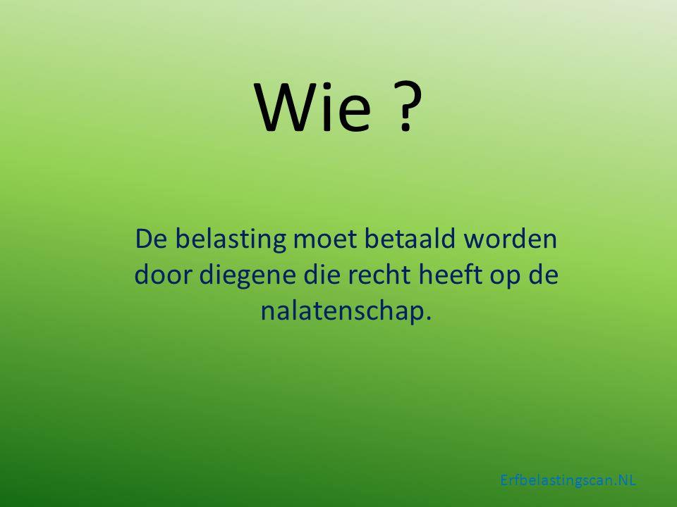 Geen testament aanwezig Erfbelastingscan.NL