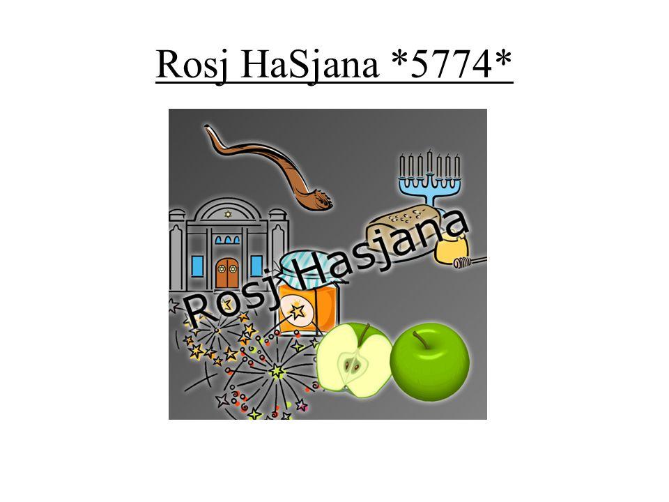 Rosj HaSjana *5774*