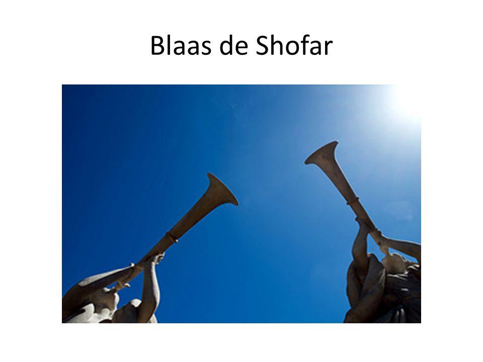 Blaas de Shofar