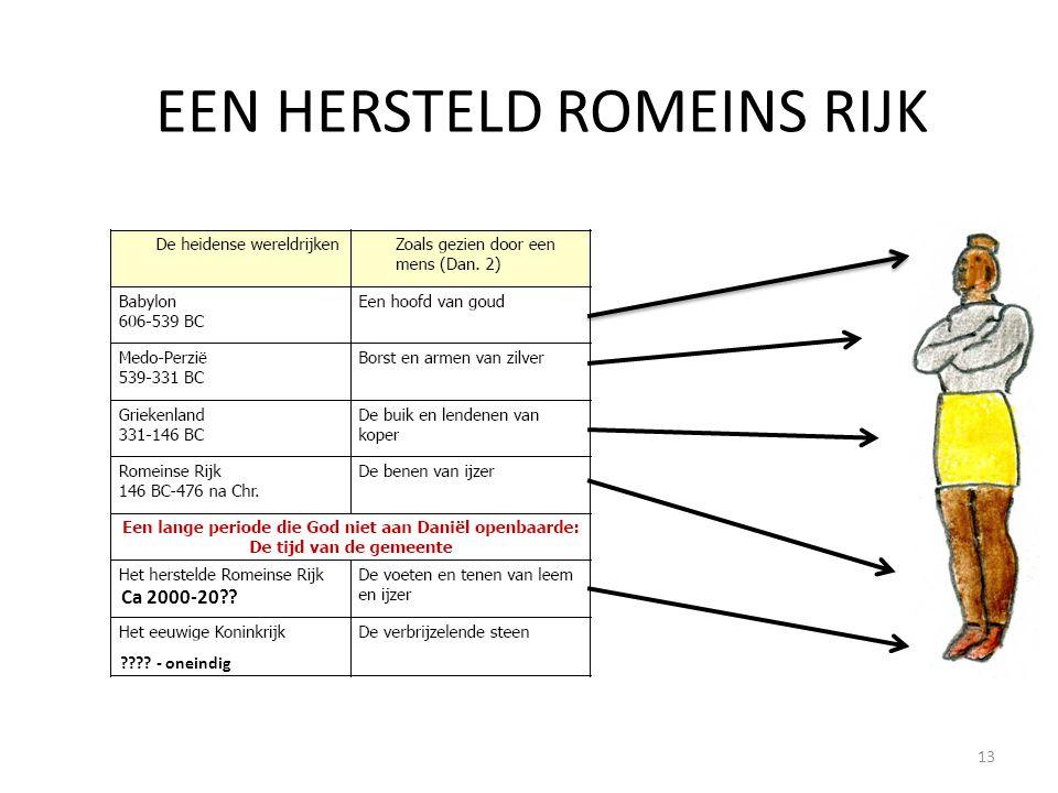 EEN HERSTELD ROMEINS RIJK Ca 2000-20?? ???? - oneindig 13