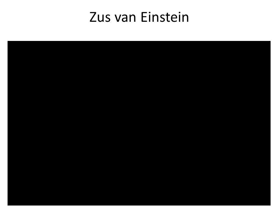 Zus van Einstein