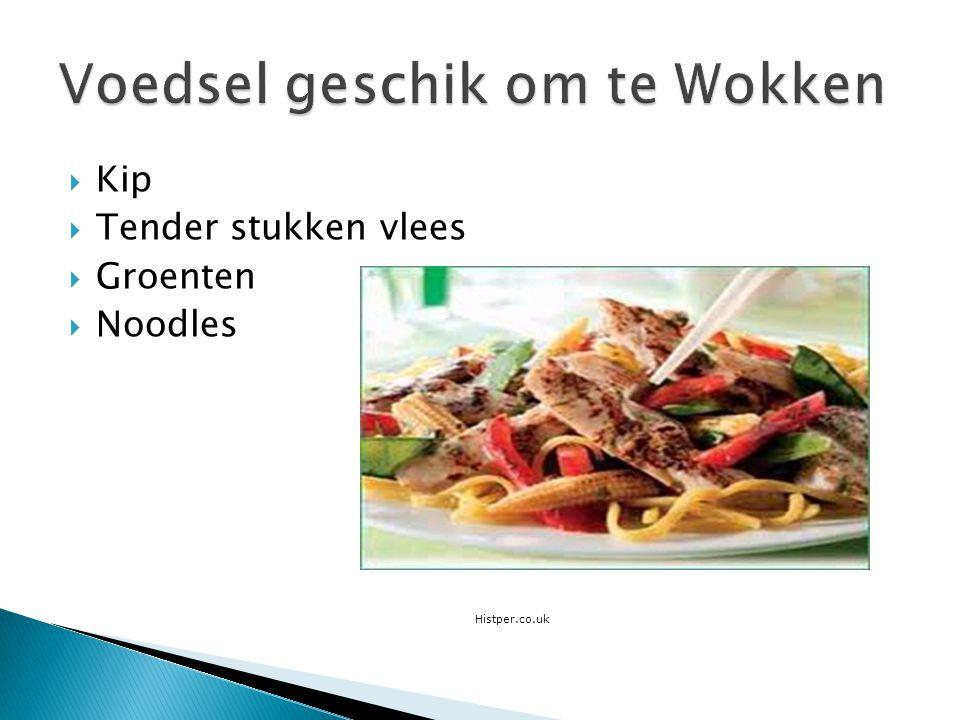 Kip  Tender stukken vlees  Groenten  Noodles Histper.co.uk