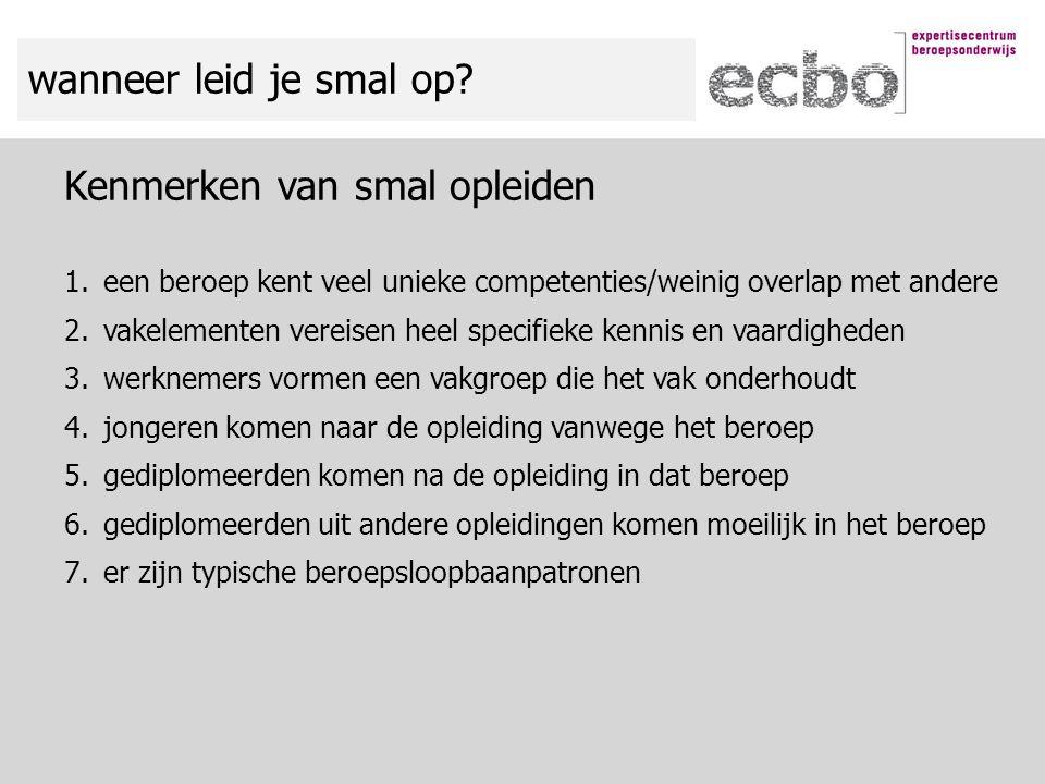 2006/072012/13 vso/pro vmbo bl2 vmbo kl3953 vmbo gl/tl2410 havo/vwo67 hbo 4 ontwikkeling van de instroom naar herkomst: gastheer/-vrouw (3) % *Relatief veel switchers (54%)