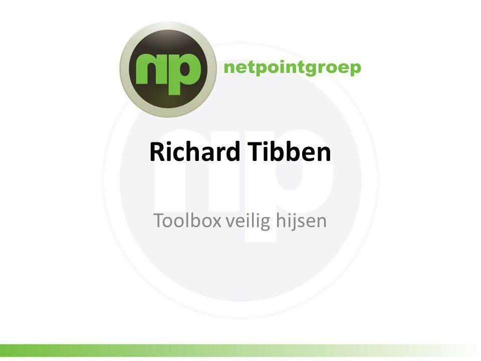 Richard Tibben Toolbox veilig hijsen