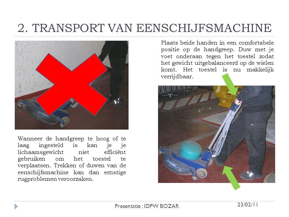 Een zware last veroorzaakt rugletsels aan de wervelkolom en verhoogt het risico op valgevaar.