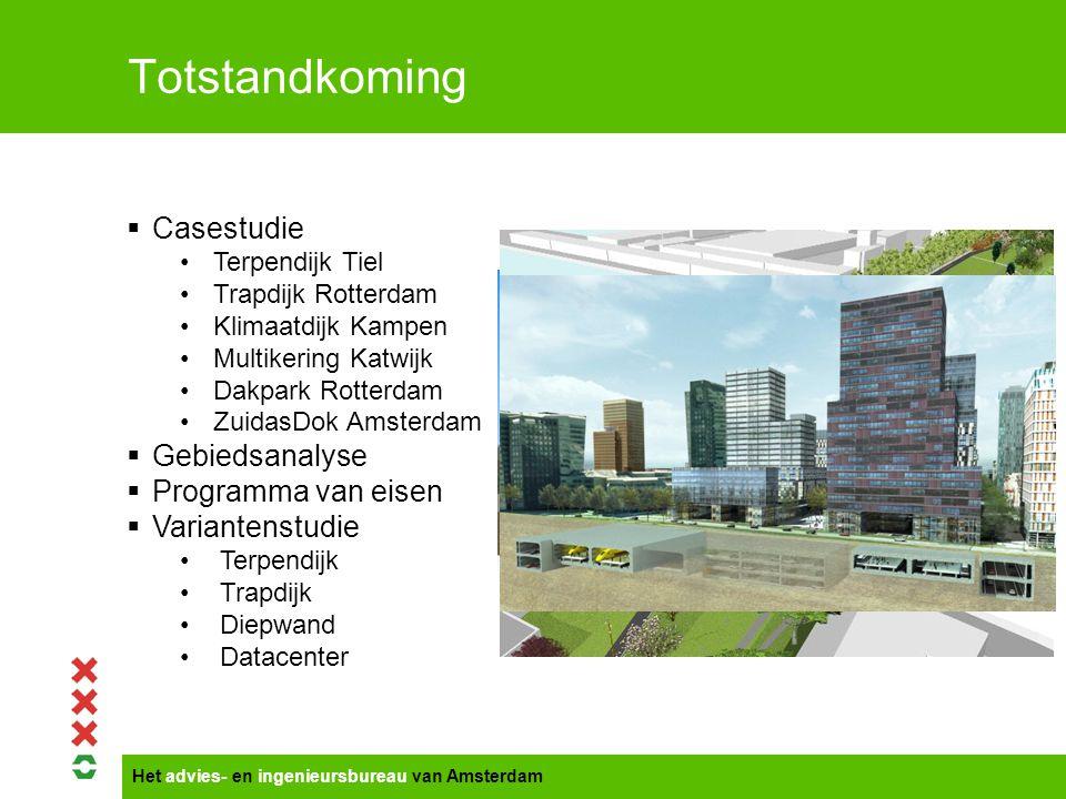Het advies- en ingenieursbureau van Amsterdam Terpendijk