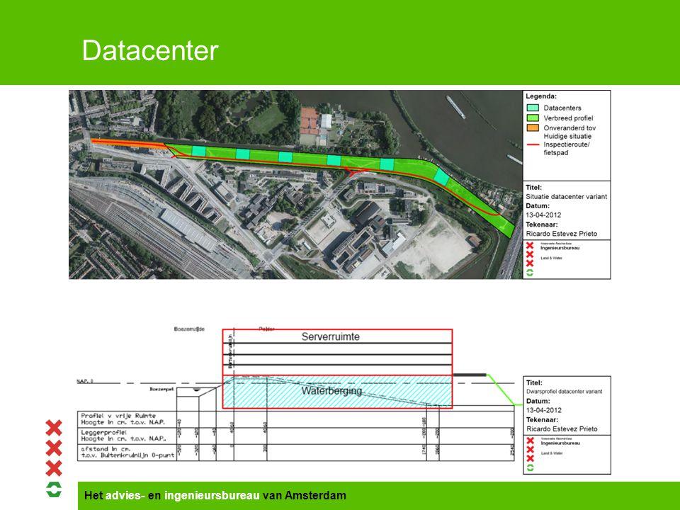Het advies- en ingenieursbureau van Amsterdam Datacenter Voordelen  Inefficiënt ruimtegebruik van de kavels binnen het Science Park wordt tegengegaan.