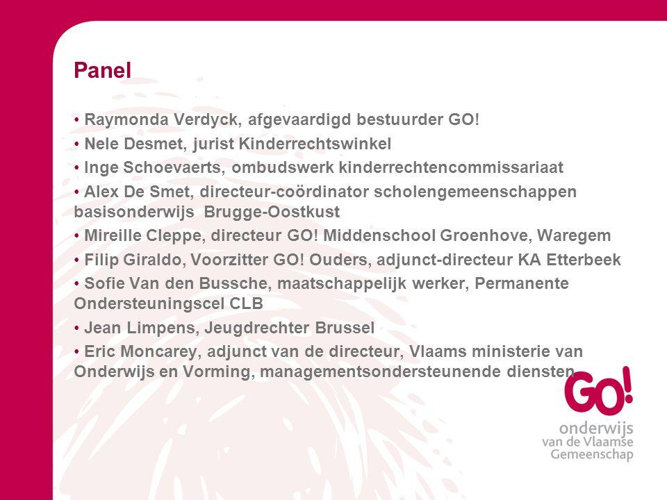 Panel • Raymonda Verdyck, afgevaardigd bestuurder GO.