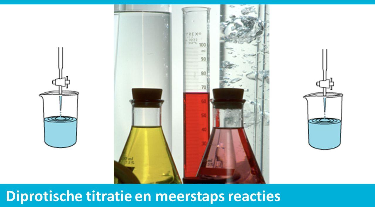 Diprotische titratie en meerstaps reacties