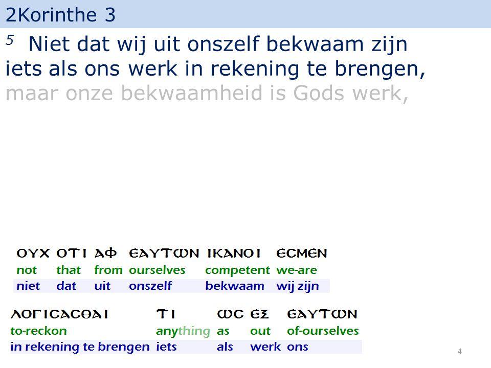 2Korinthe 3 17 De Here nu is de Geest; en waar de Geest des Heren is, is vrijheid. 35
