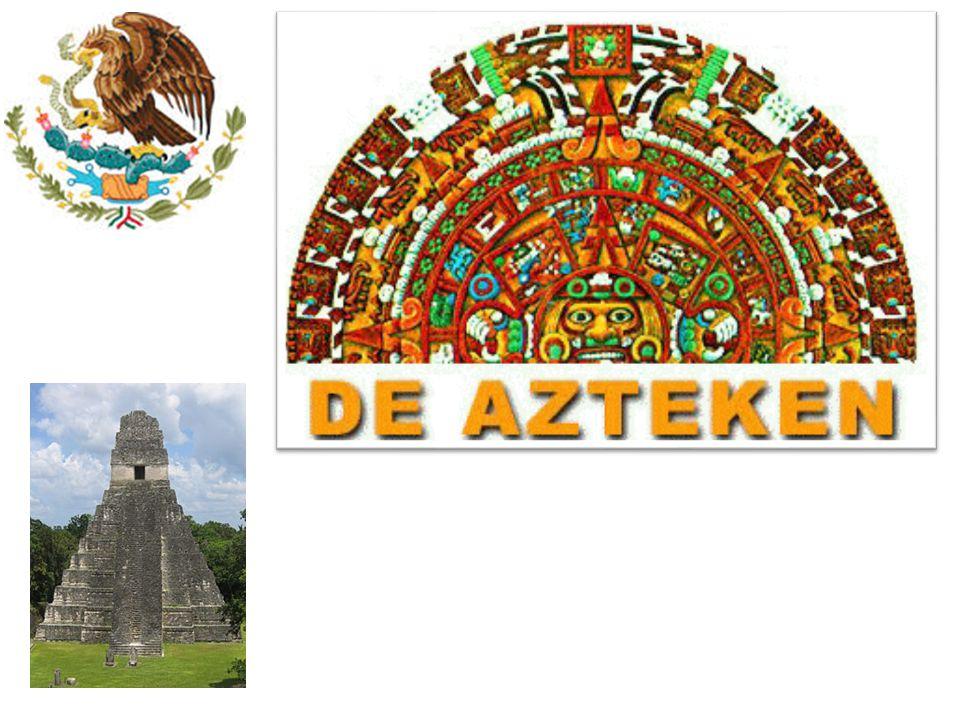inhoud • waar en wanneer leefden de Azteken • Eten en drinken • De kleding • Hoe leefden de Azteken • De goden • Filmpjes