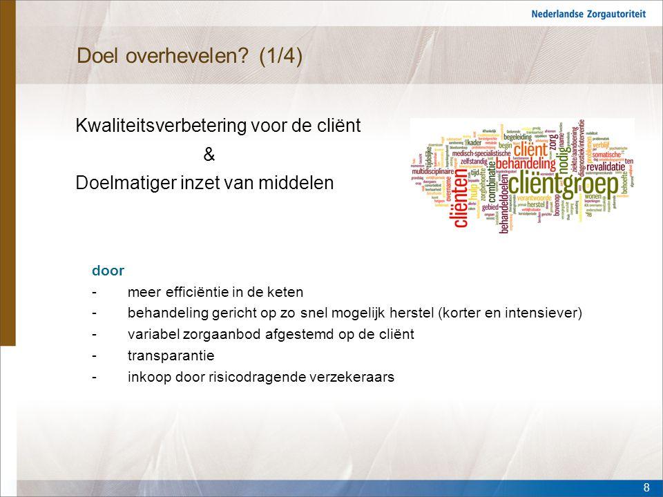 Vragen? VragenCare@nza.nl Informatielijn 0900-7707070 29