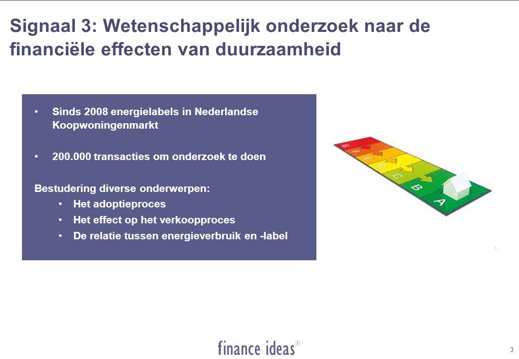 Signaal 3: Investeren in duurzaamheid lucratief 4