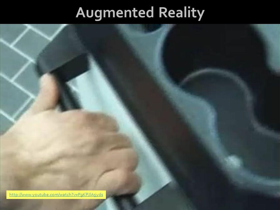 Ian Pearson, BT Warwick Augmented Reality http://www.youtube.com/watch v=P9KPJlA5yds