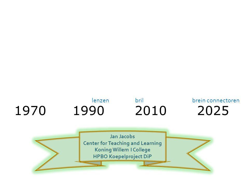Welke vooruitzichten voor school en leren.Hoe kun je (nog) kiezen.