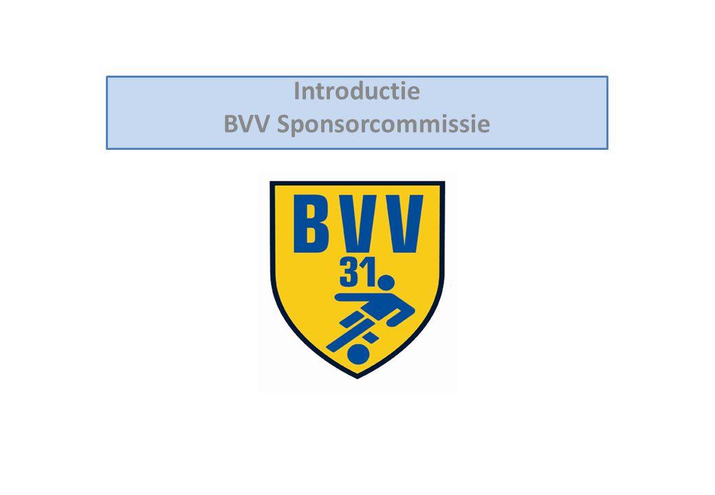 Introductie BVV Sponsorcommissie