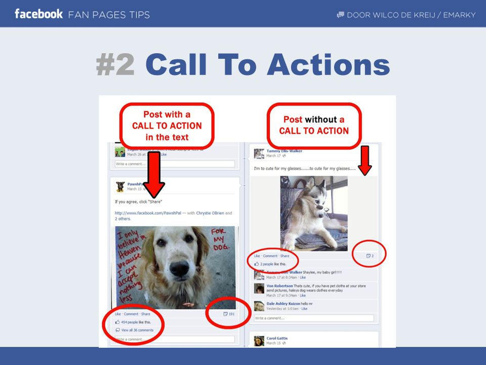 #2 Call To Actions