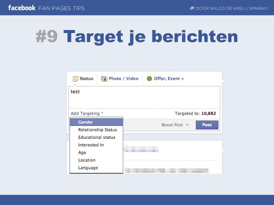 #9 Target je berichten