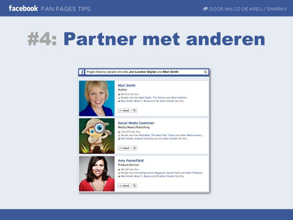#4: Partner met anderen