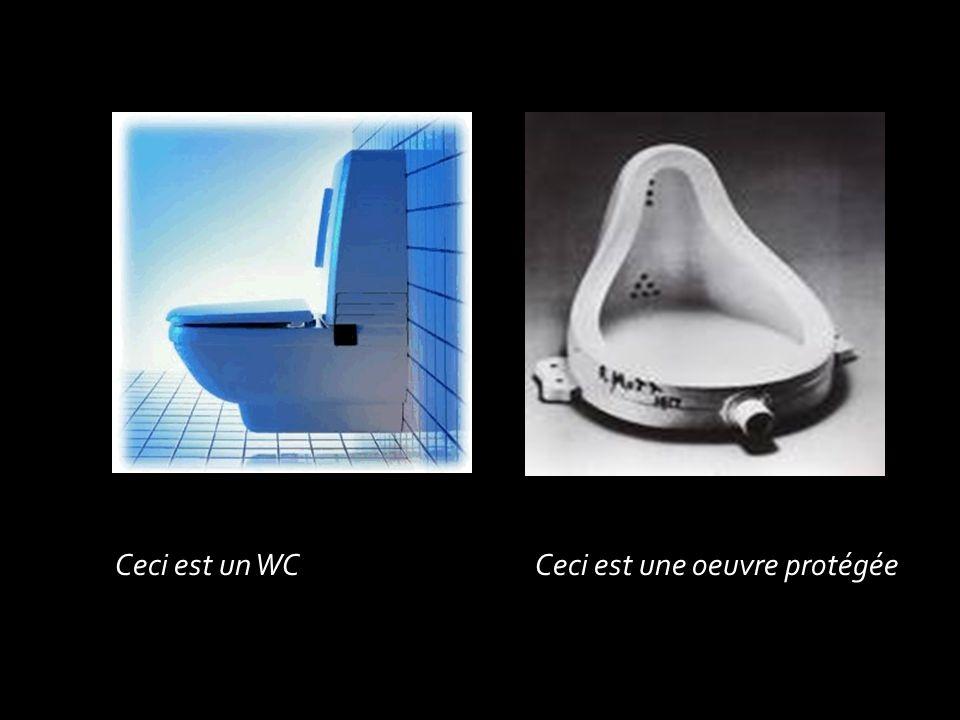 Ceci est un WCCeci est une oeuvre protégée