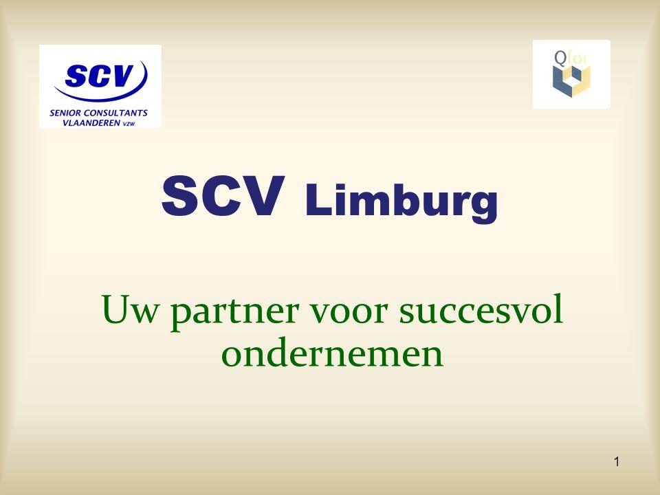 Wat kost onze service .De SCV ondersteuning heeft een zeer beperkte invloed op uw kosten.