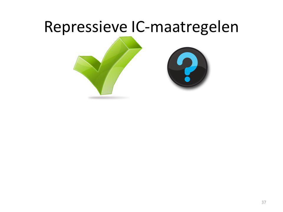 Repressieve IC-maatregelen 37
