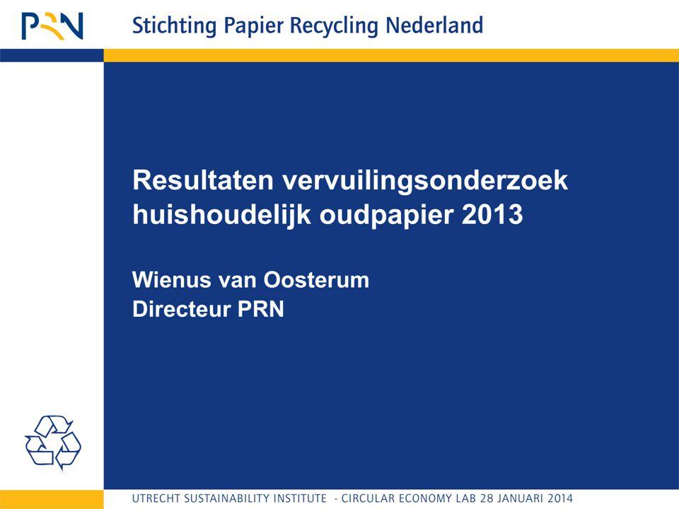 Onderwerpen  Vervuilingsonderzoek  Inzamelmethoden  Verbeteropties (inzameling)  Conclusies vervuilingsonderzoek huishoudelijk oudpapier