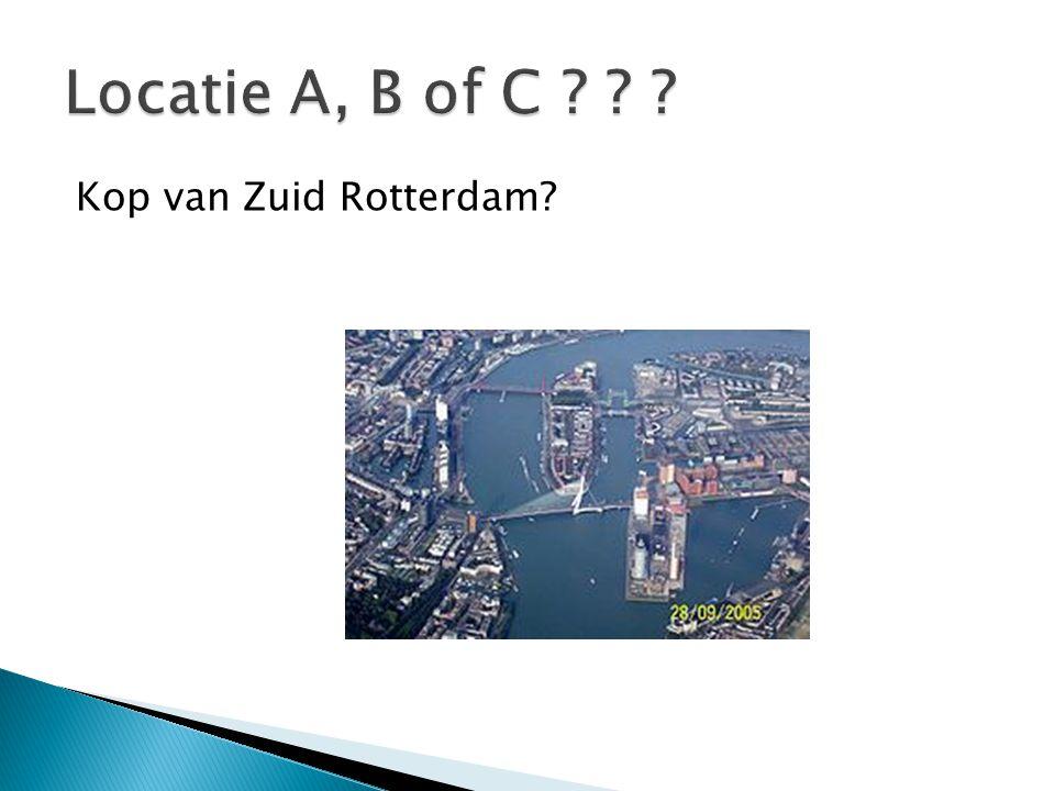 Kop van Zuid Rotterdam?