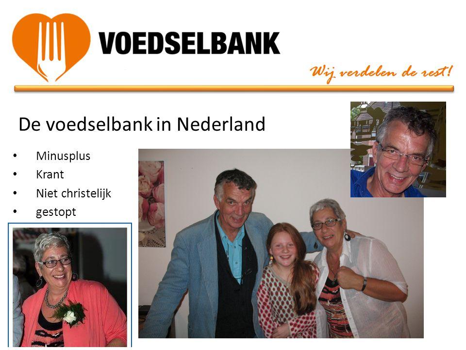 De voedselbank in Nederland • Minusplus • Krant • Niet christelijk • gestopt