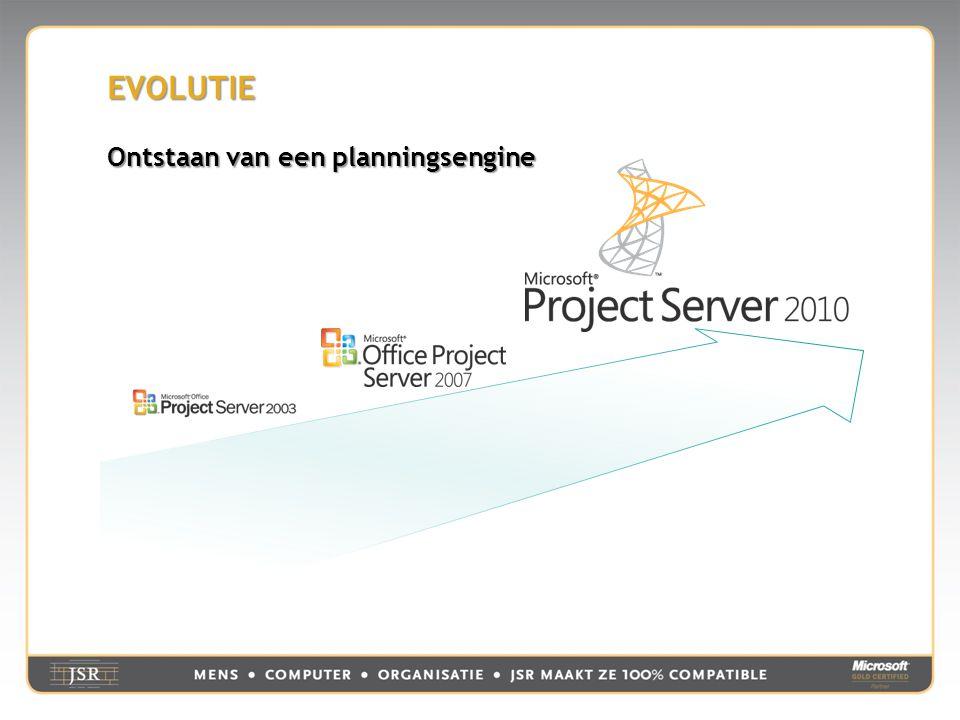 EVOLUTIE  Client planningsengine draaiend op de server beperkt  Beperkte programmeermogelijkheden voor bewerking d.m.v.